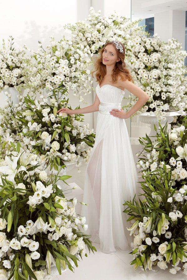 abito da sposa stella white