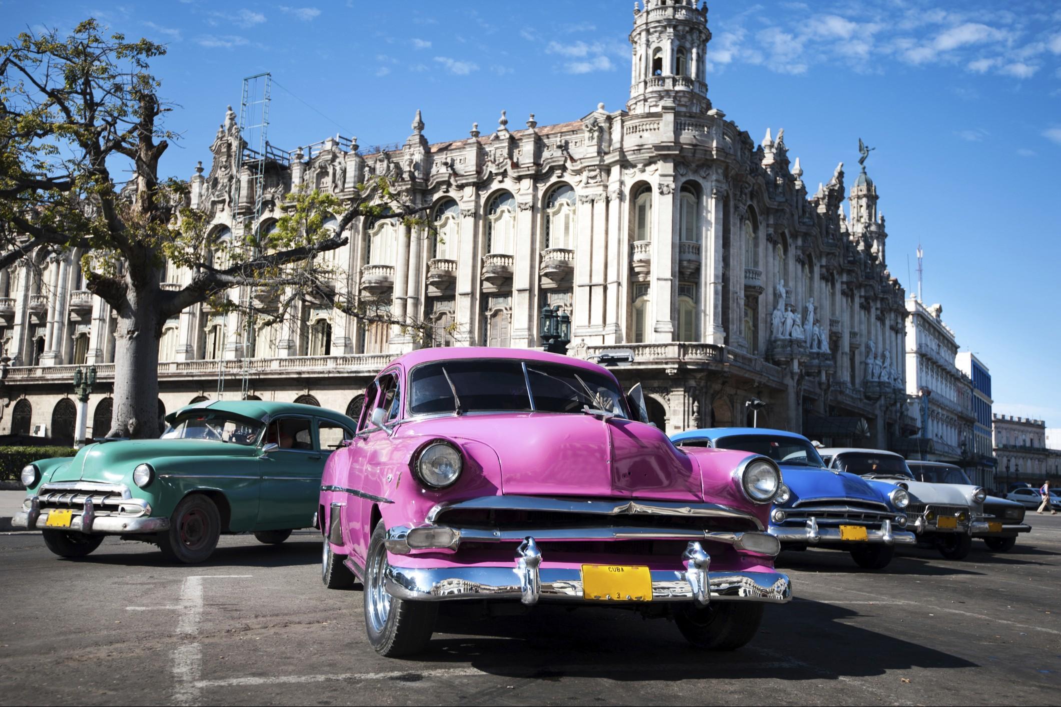 Viaggio di nozze a Cuba, l'Avana