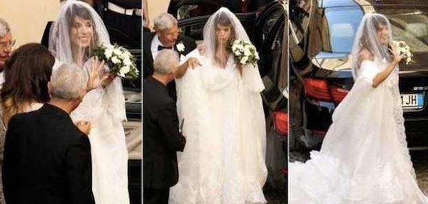 elisabetta canalis matrimonio nozze alghero