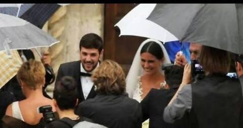 nozze mattia destro e ludovica caramis