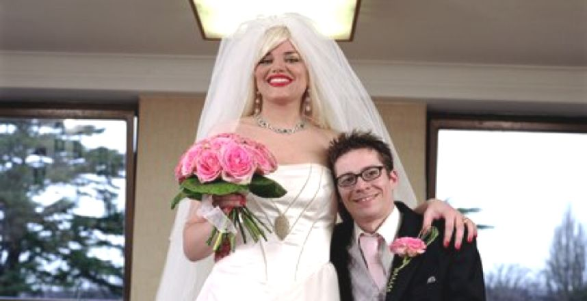 sposo basso sposa alta