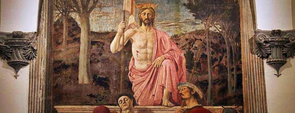 Piero della Francesca, Resurrezione. Sansepolcro