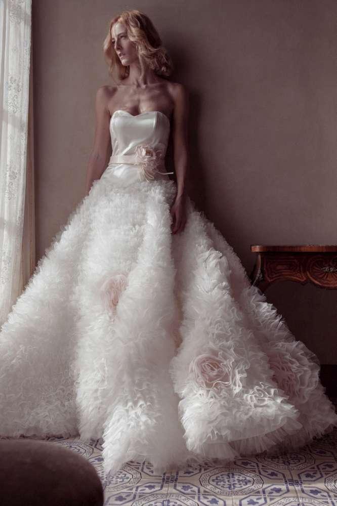 La sartoria abito da sposa
