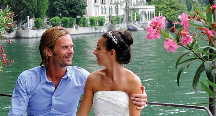 italian weddding lake como