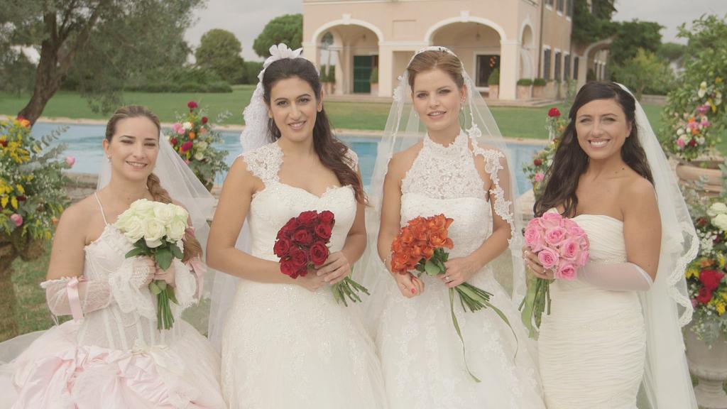 quattro matrimoni in italia valentina elisa alessia sara