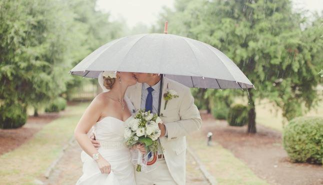 matrimonio con la pioggia