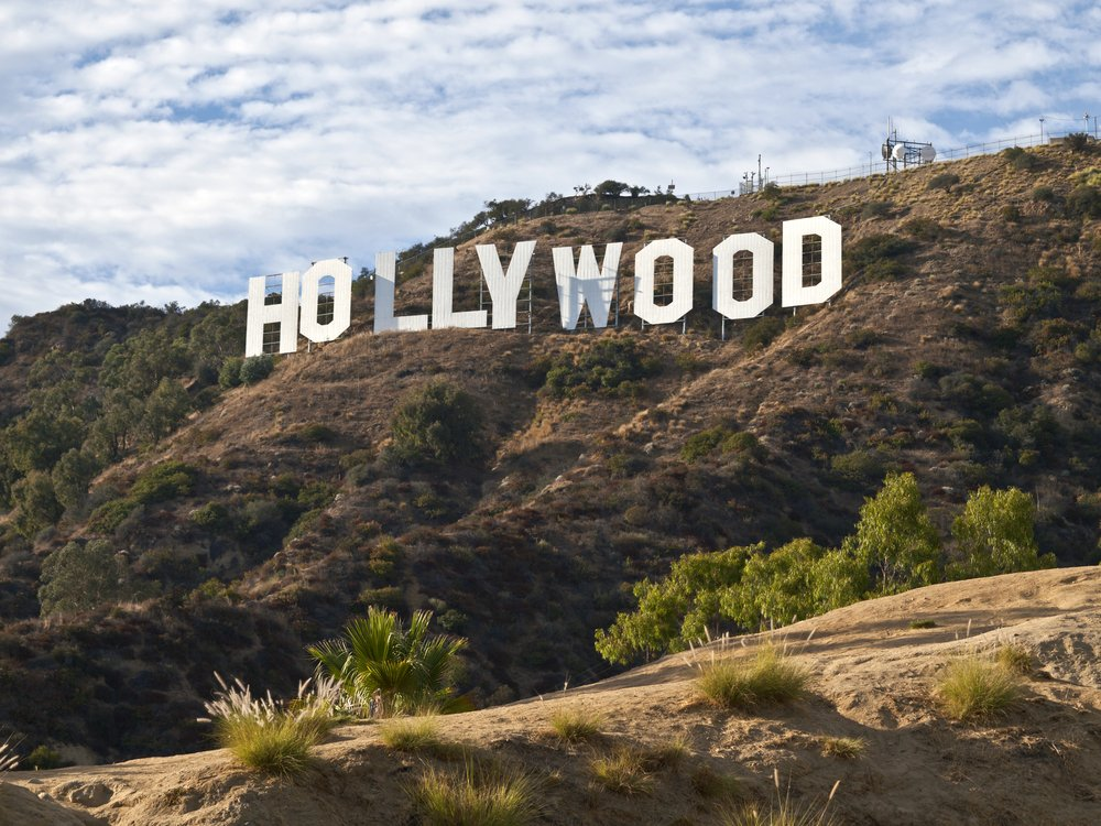 Hollywood, viaggio di nozze in California