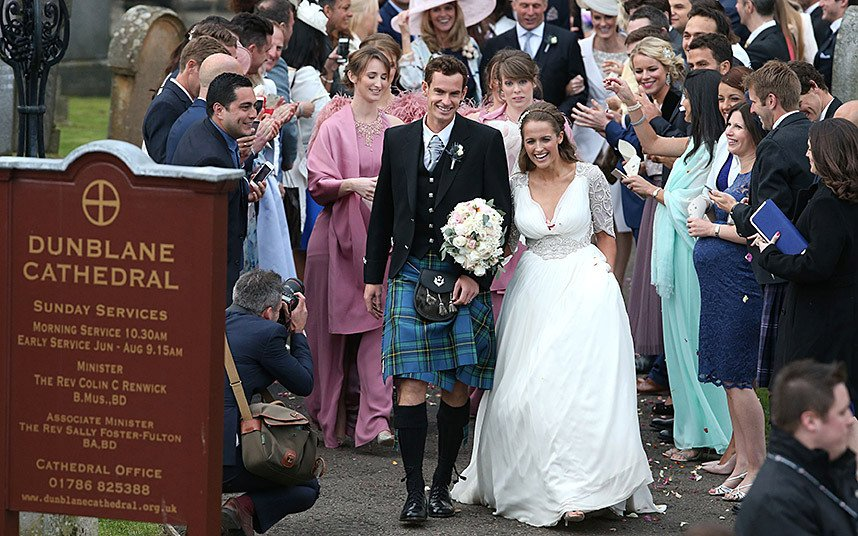 matrimonio andy murray