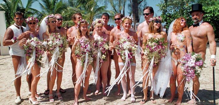matrimonio nudisti italia