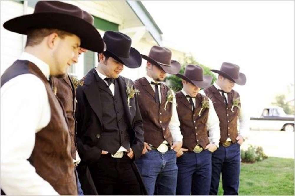 nozze country invitati