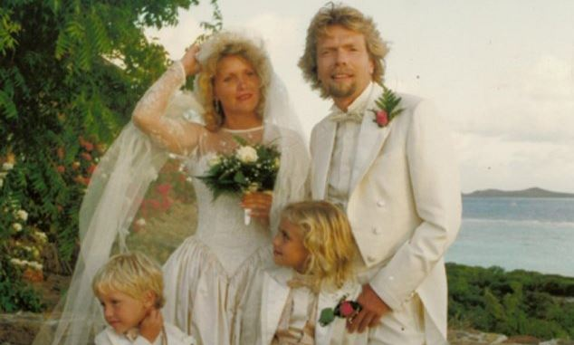richard branson nozze