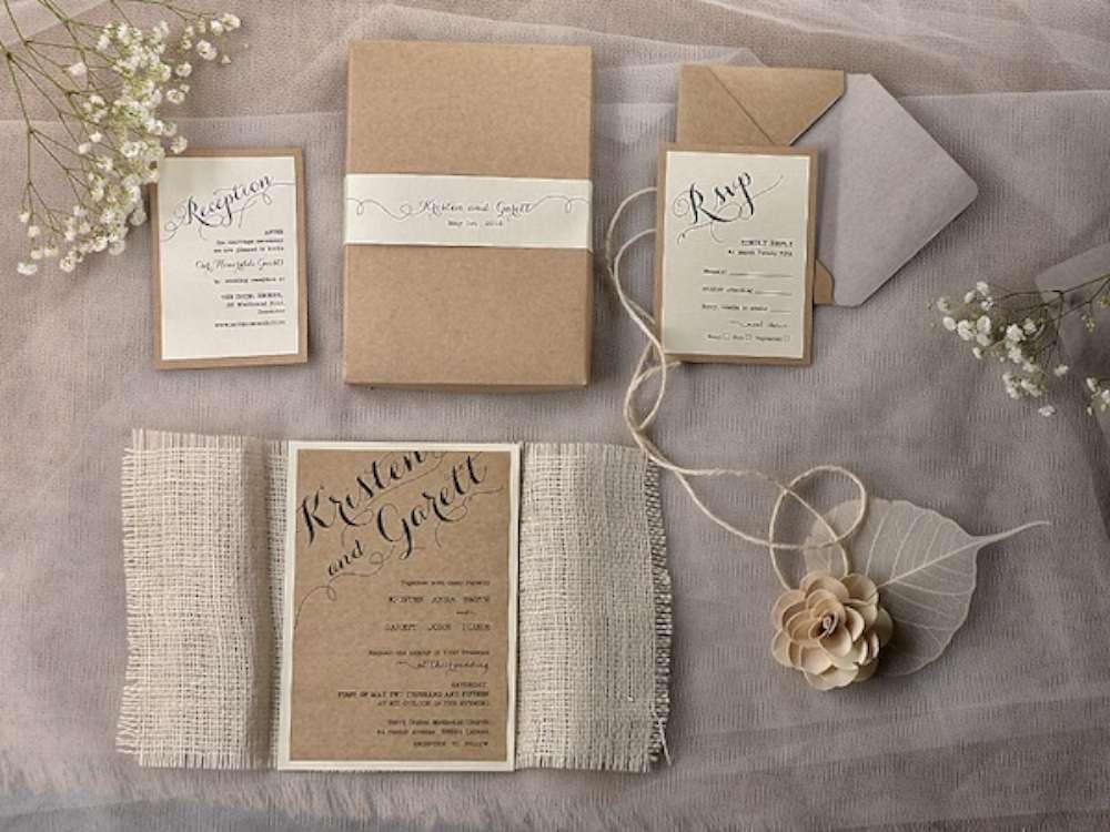 Inviti Matrimonio Country Chic : Partecipazioni di nozze: quando mandarle e cosa scrivere?
