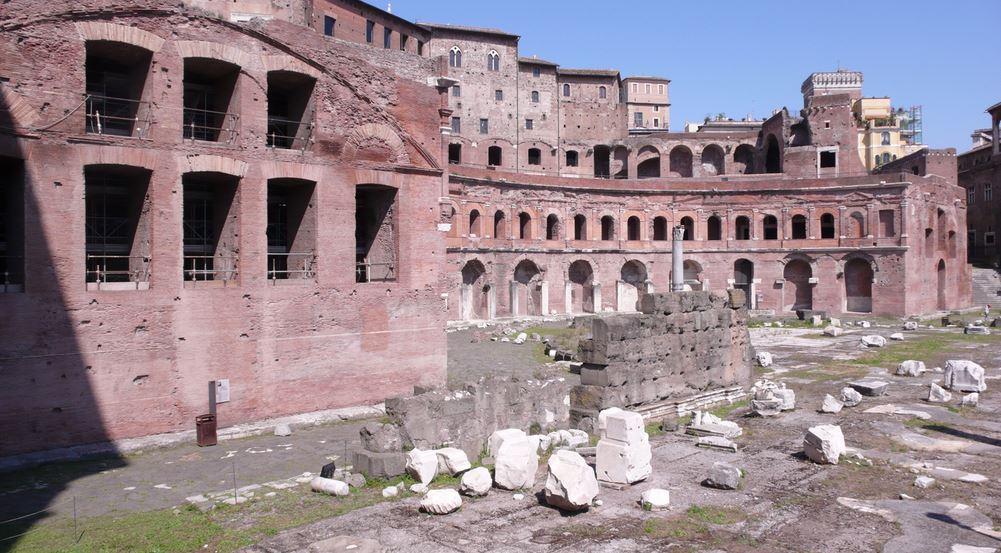 Terrazza dei mercati di Traiano