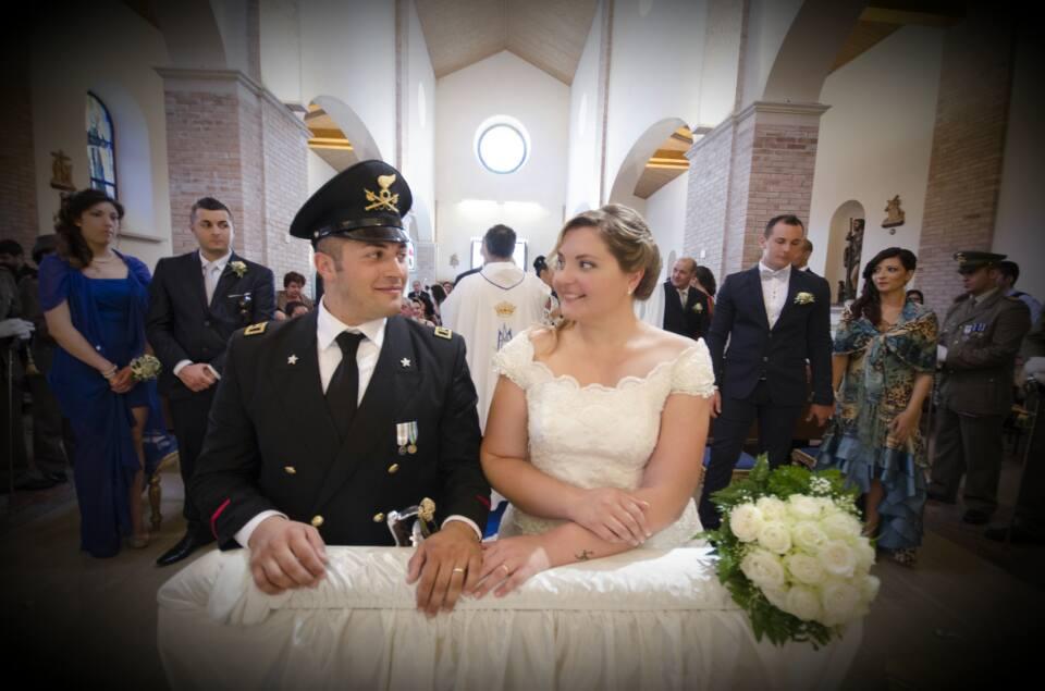 Matrimonio In Libano : Matrimonio in divisa le nozze di michela e modesto