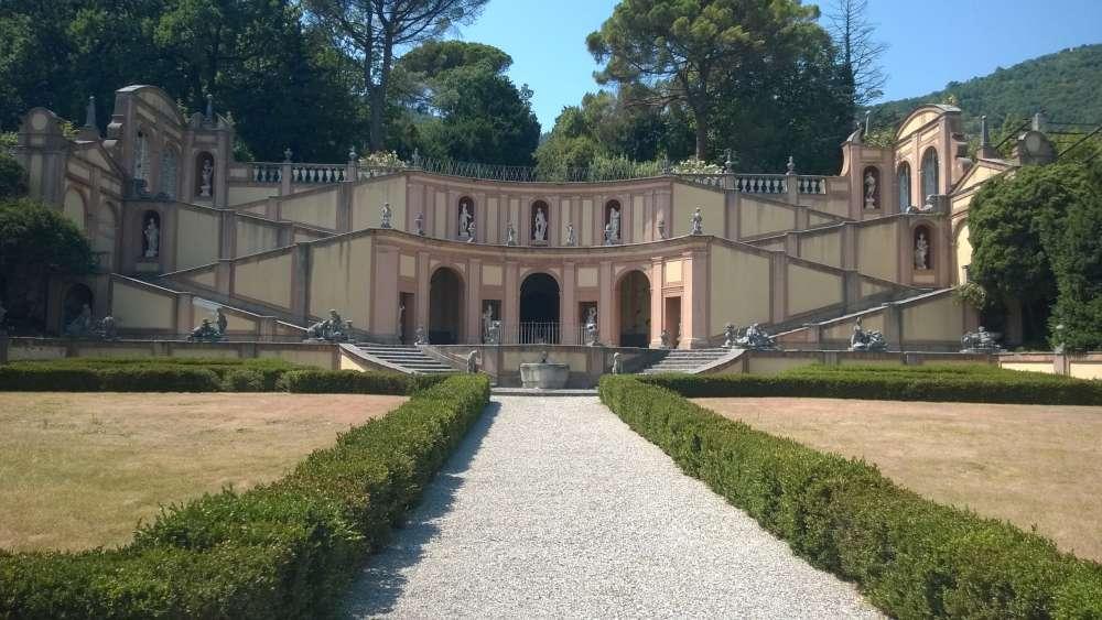 Villa Bettoni giardino