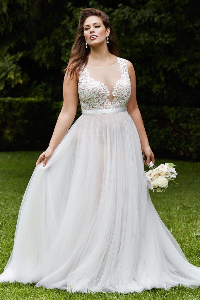 Vestiti Da Sposa X Donne Formose.Abito Per Spose Curvy I Nostri Consigli Panorama Sposi