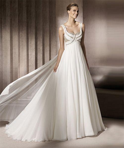 abito da sposa modella