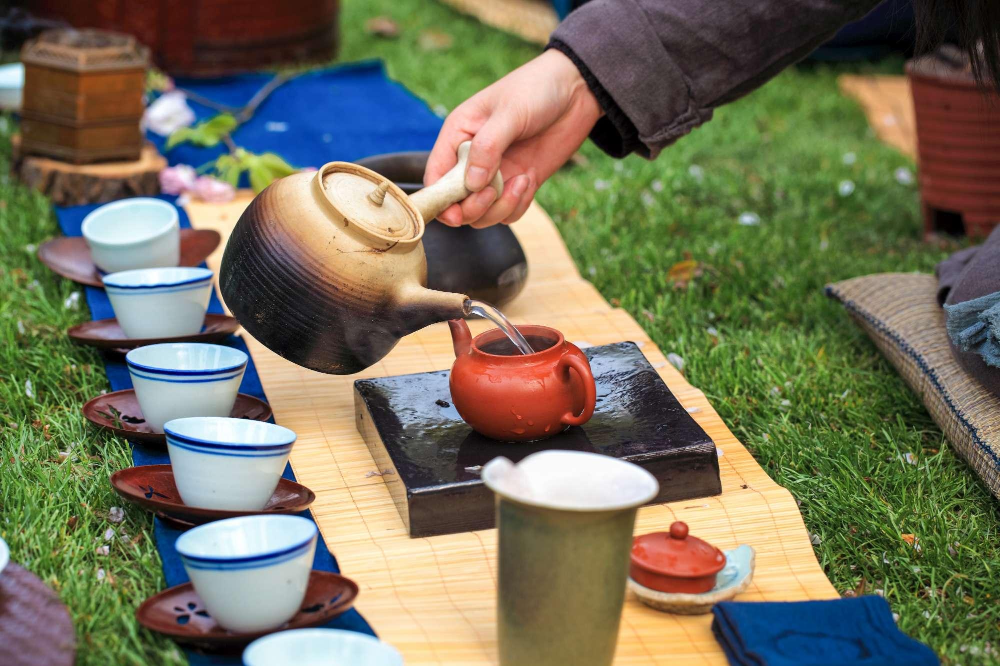 Cerimonia del tè in Cina