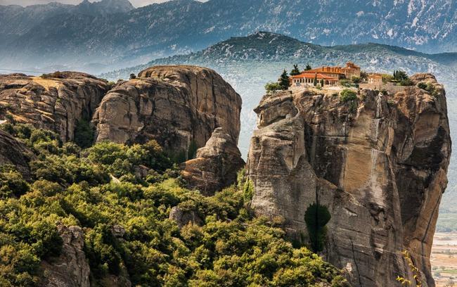 Viaggio di nozze in Grecia, le Meteore