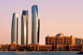 Grattacieli ad Abu Dhabi