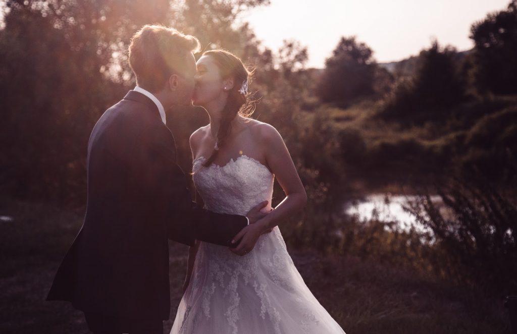 Un dolce bacio, finalmente sposi
