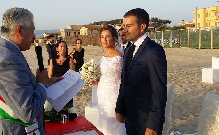 nozze in riva al mare san ferdinando