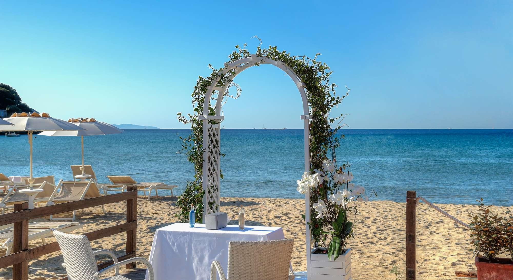 Hotel Hermitage spiaggia