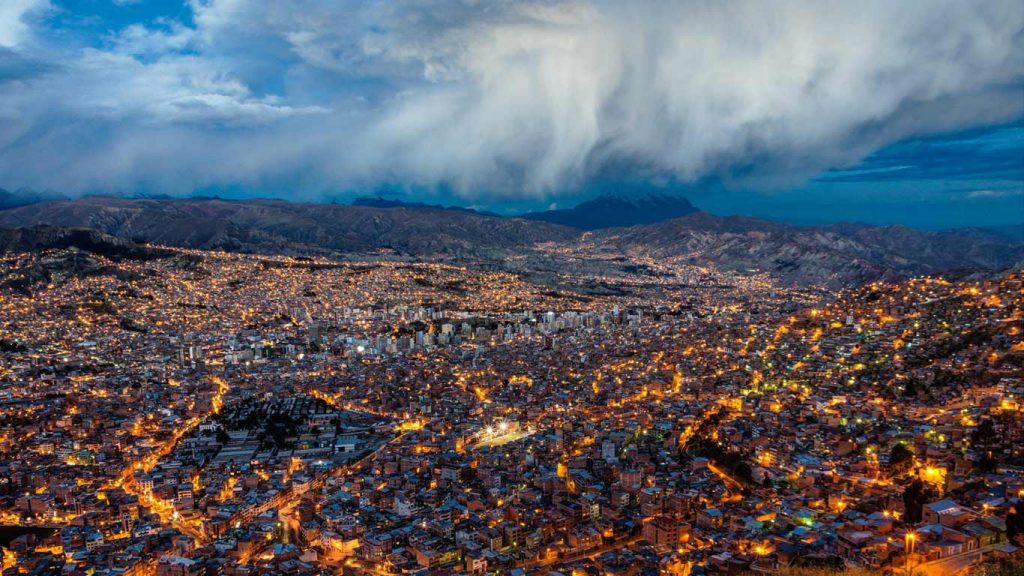 La Paz, in Bolivia