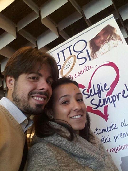 Selfie degli sposi