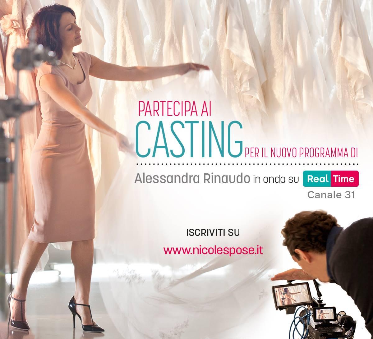 """Aperti i Casting per """"La Stilista delle Spose"""""""