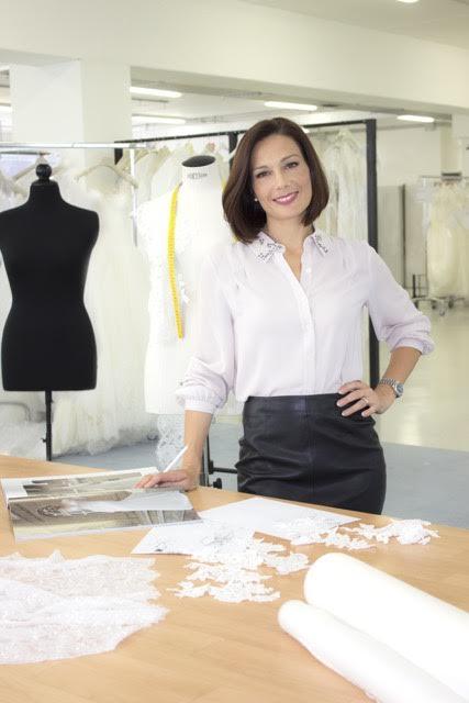 La fashion designer Alessandra Rinaudo