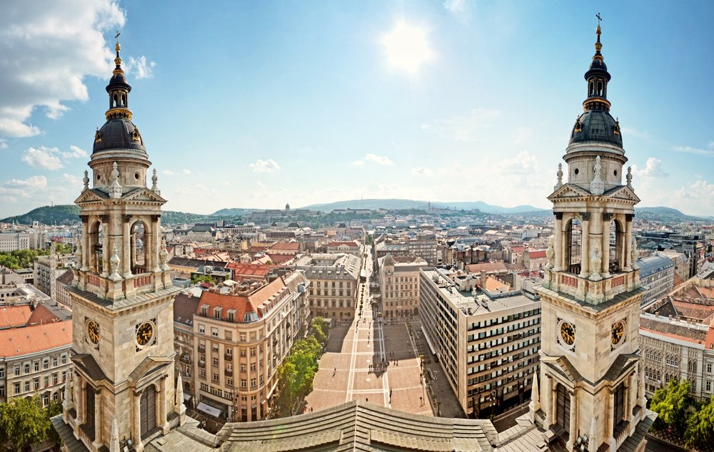 Viaggio a Budapest sposi