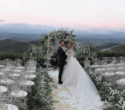 Mariano Di Vaio ed Eleonora Brunacci da Instagram