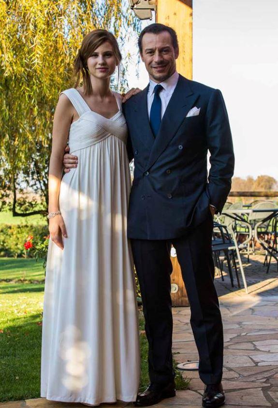 Stefano Accorsi e Bianca Vitali nozze