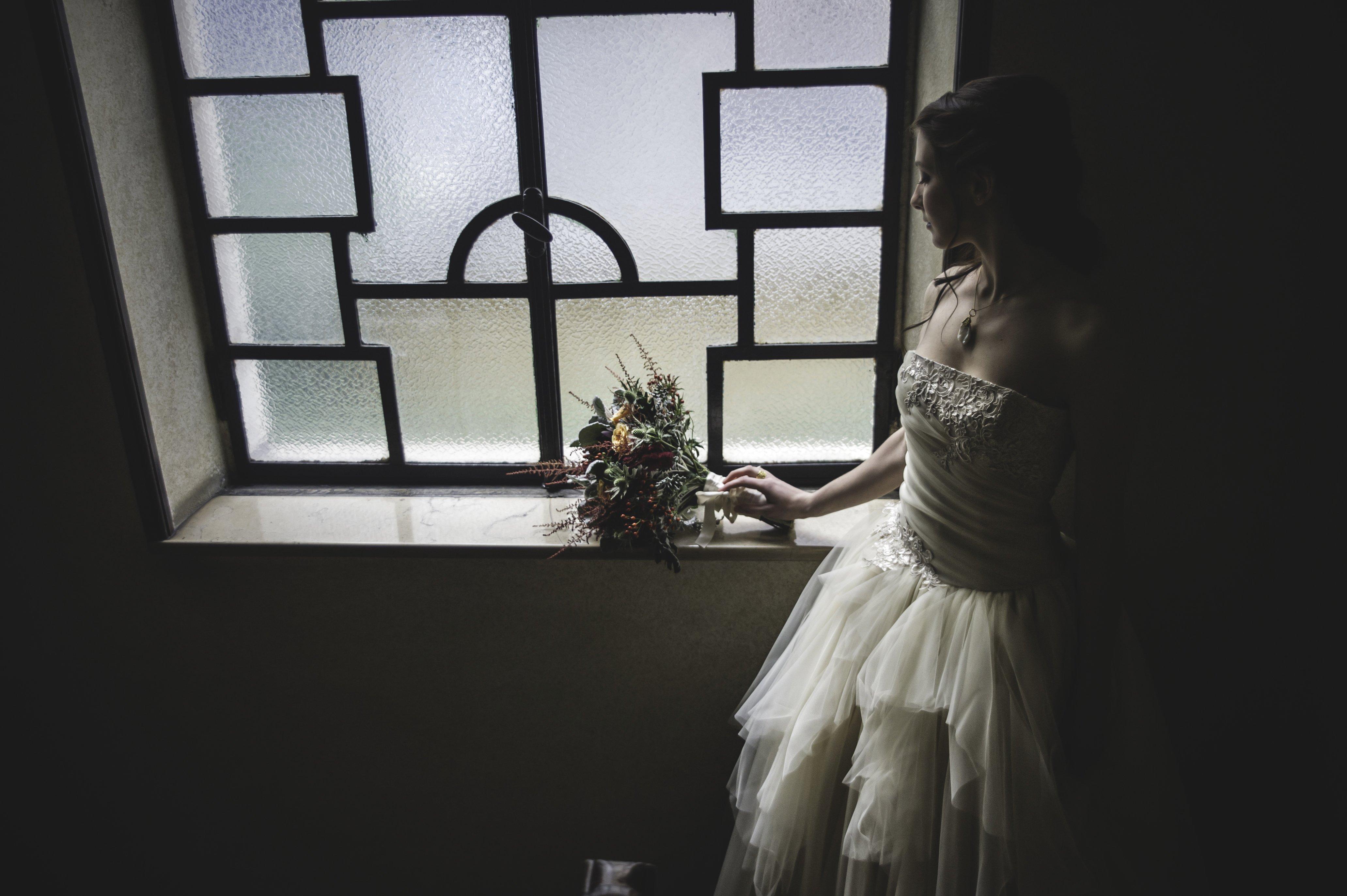 Abito da sposa firmato Ela Siromascenko