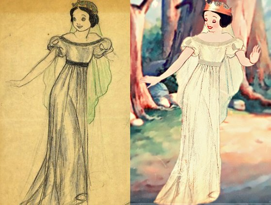 Abiti da sposa principesse Disney, Biancaneve