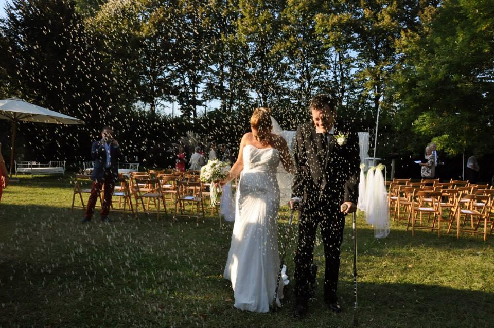 Daniela e Andrea finalmente sposi