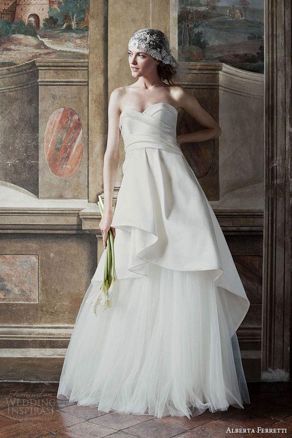 Alberta Ferretti sposa, Bridal Forever 2016 (Diana)