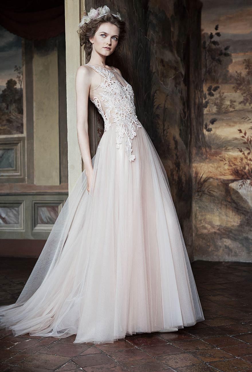 newest e8c52 29f76 Alberta Ferretti sposa, una collezione bridal unica