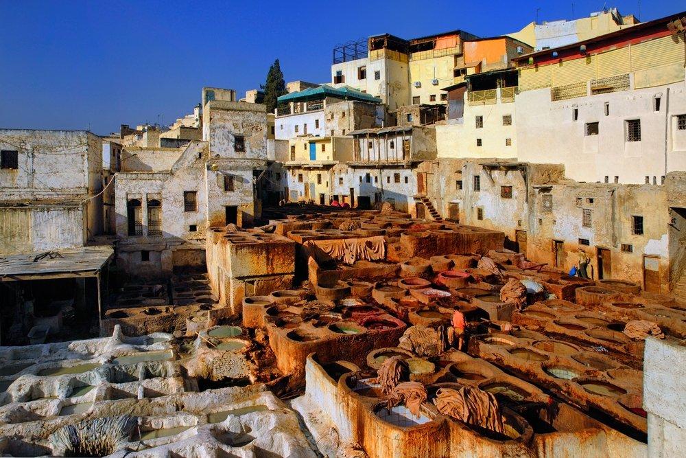 Viaggio di nozze in Marocco, Fes Concerie