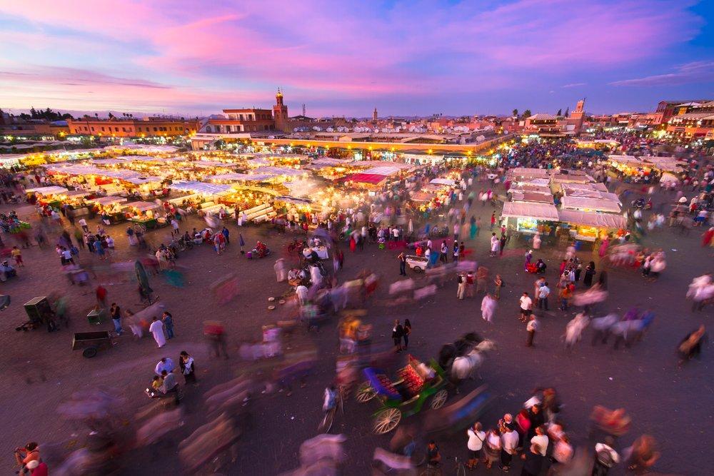 Viaggio di nozze in Marocco, Marrakech