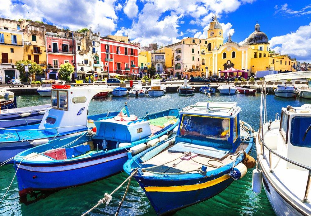 Viaggio di nozze in Italia, Procida