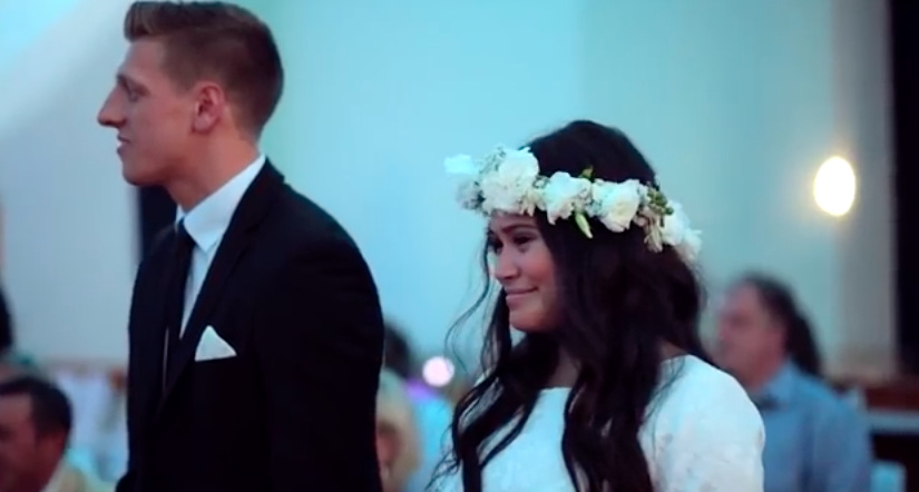 Haka al matrimonio sposi