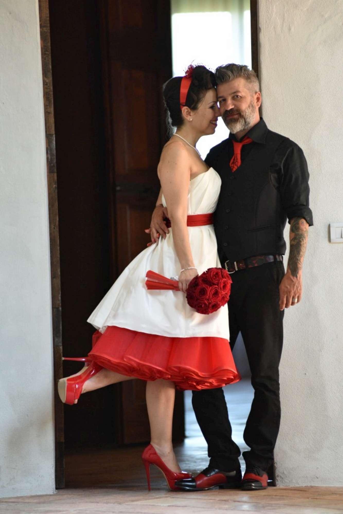 Paola e Giuseppe, un matrimonio rockabilly