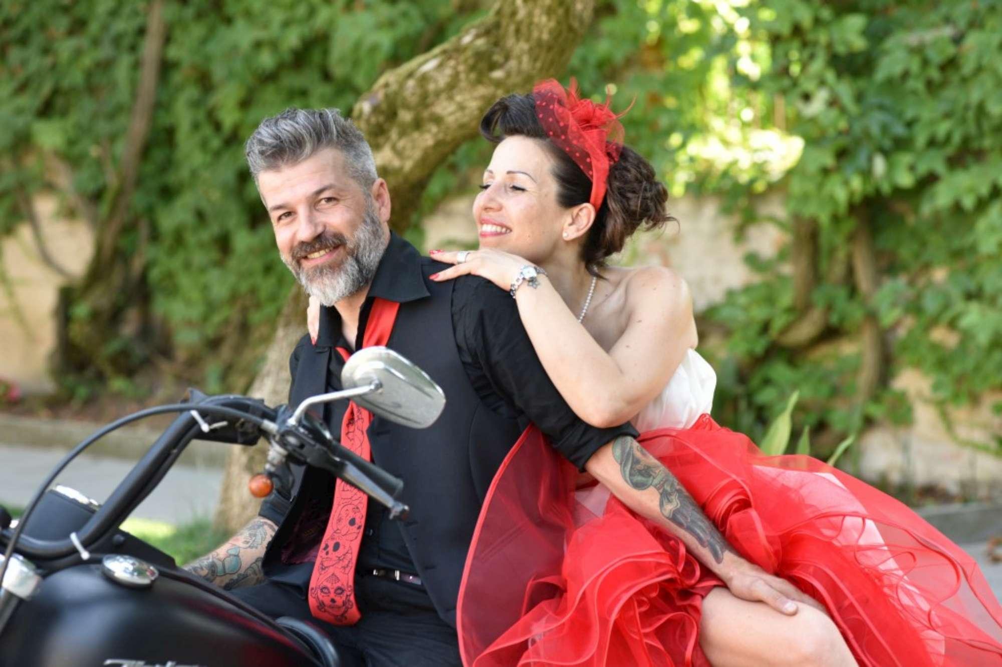 Paola, Giuseppe e la Harley