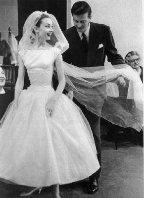 Abiti da sposa da film: Audrey Hepburn