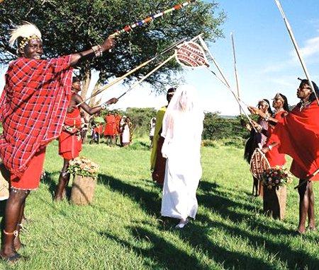 Matrimonio africano in Kenya