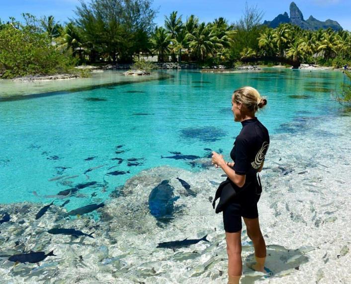Biologa marina del Resort