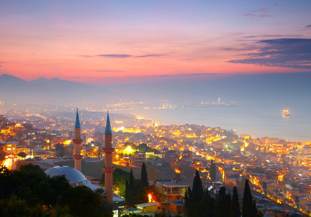 Viaggio di nozze in Turchia, Izmir