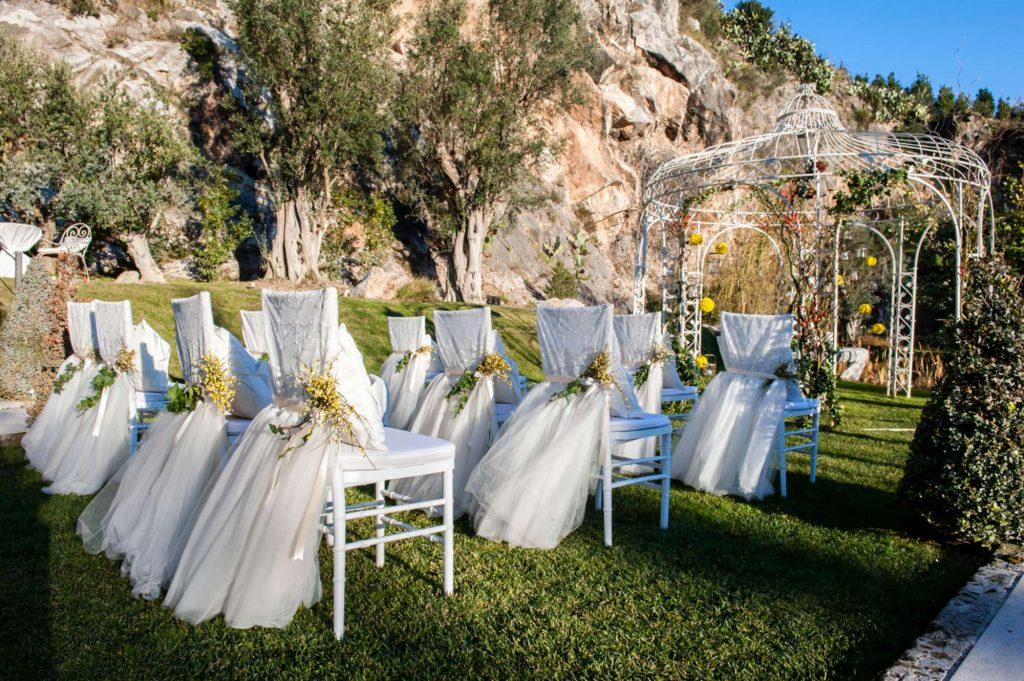 Matrimonio 8 marzo, l'allestimento